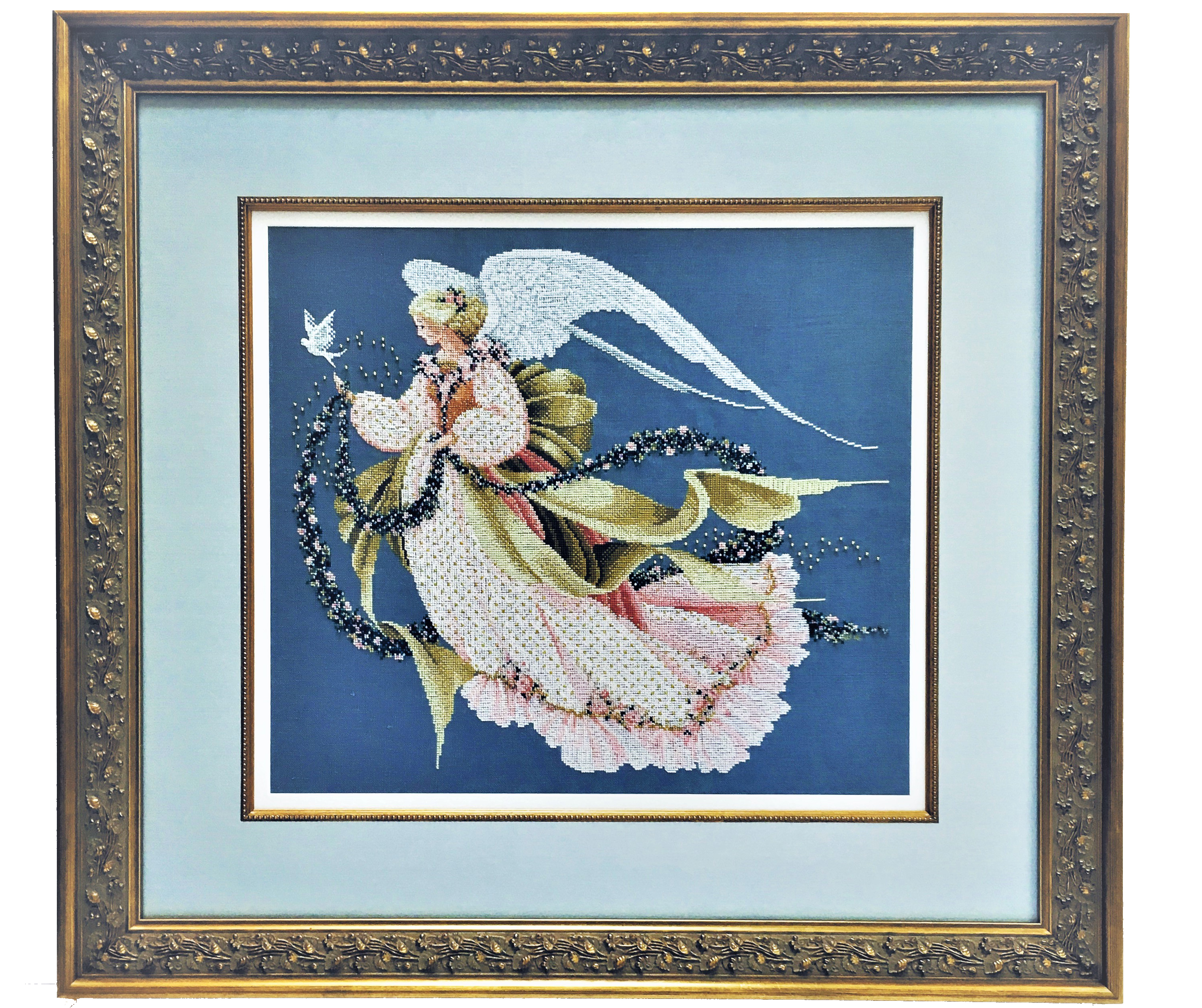 NEEDLEPOINT ANGEL